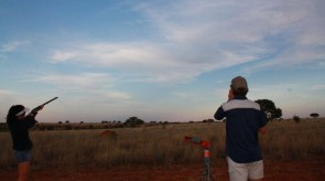 Makgoro Lodge Activities - Clay Pigeon Shooting
